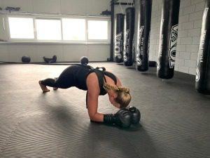 Planken bij personal training zwanenburg